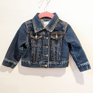 2/$20 Children's Place Girls jean jacket 18 months